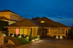 Exterior Lighting in Ventura Home