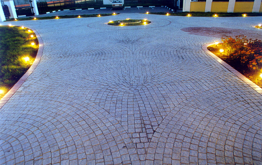 Lighted Driveway And Path Electrical
