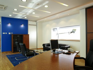 Office Interior Lighting Electrical Installation